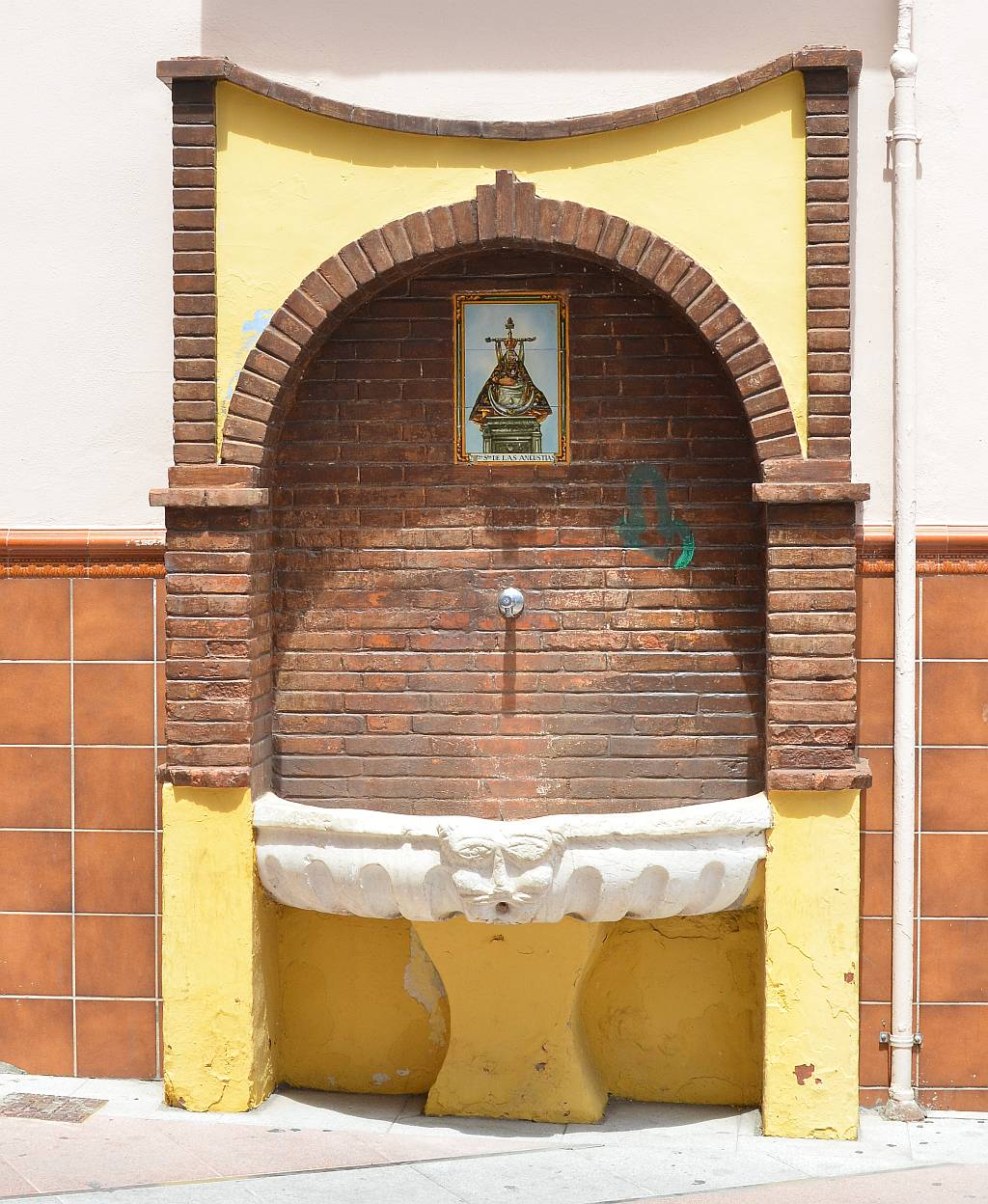 fountain, Nerja