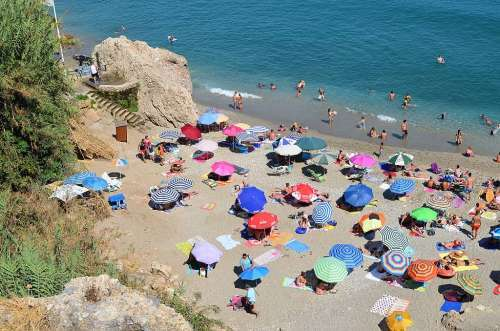 Carabeillo beach, Nerja