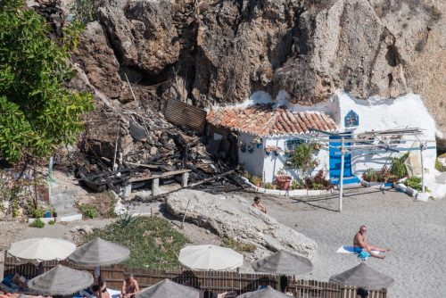cottage, Calahonda beach, Nerja