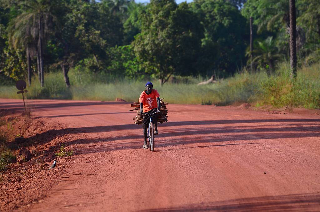 Cyclist, Gambia