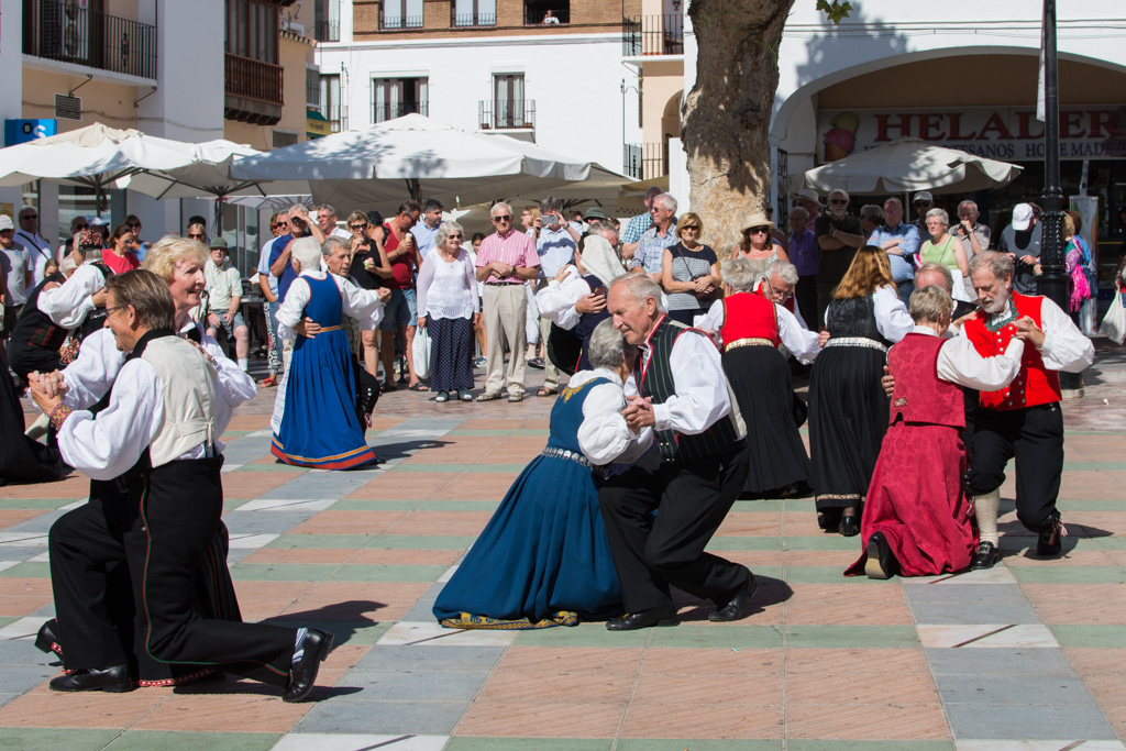 Folk dancing, Nerja