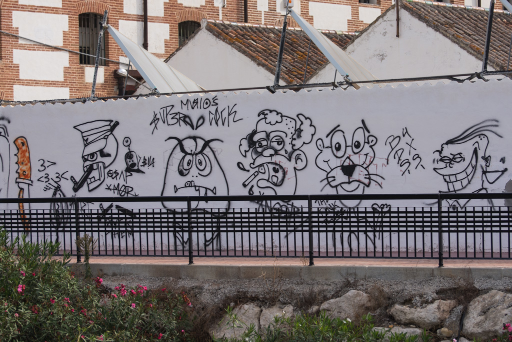 graffiti, Nerja