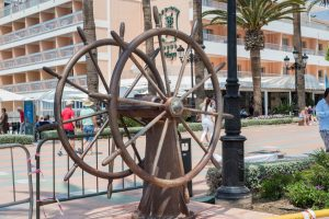 ship's wheel, Nerja