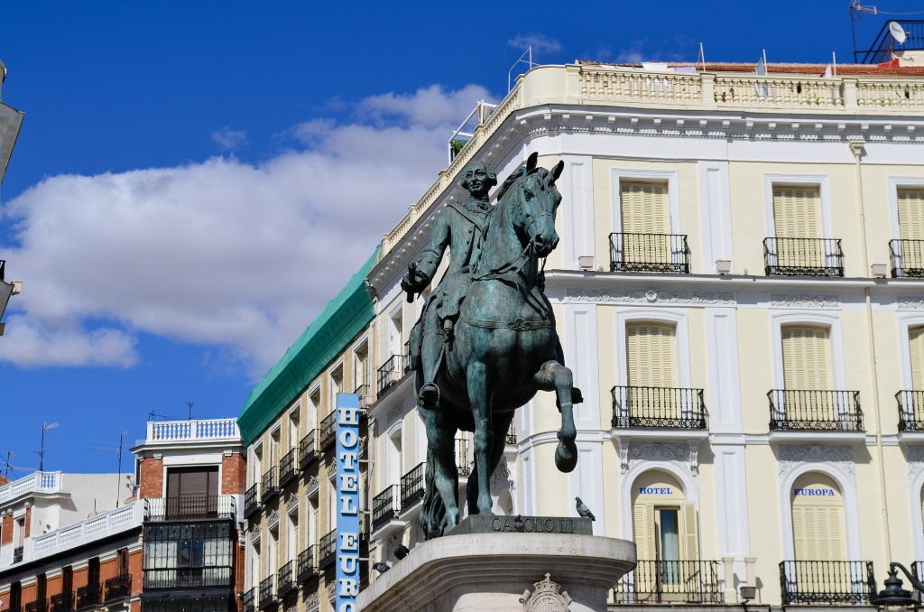 King Carlos III, Madrid