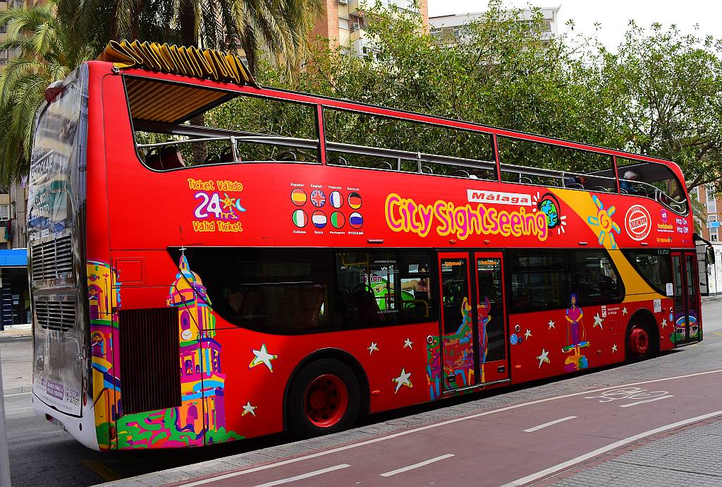 City Sightseeing Bus, Málaga