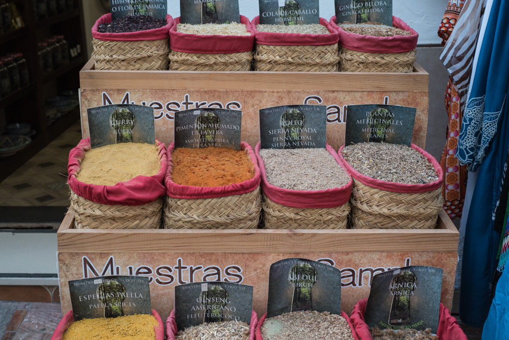 spices, Nerja