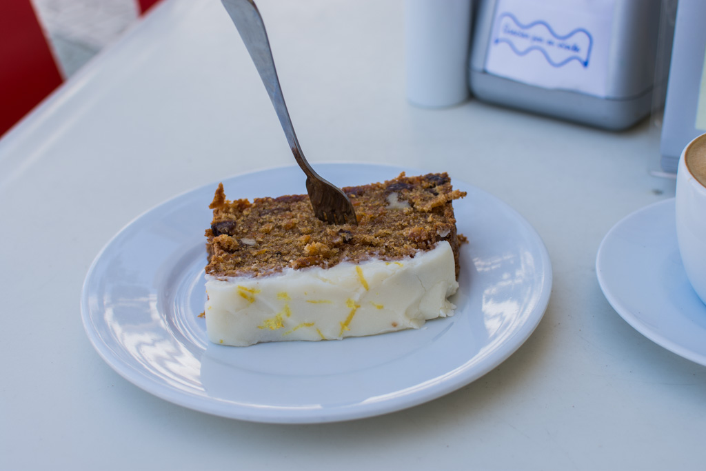 Carrot cake, Good Stuff, Nerja
