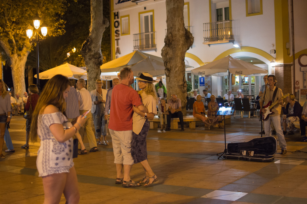 Nerja at night