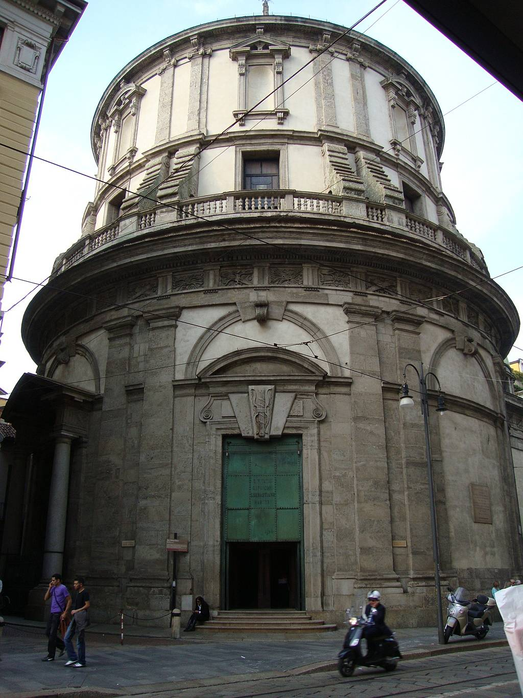 Temple of San Sebastian, Milan