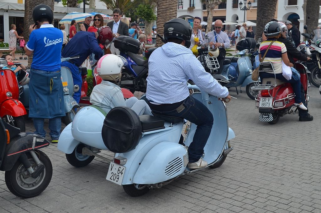 scooters, Nerja