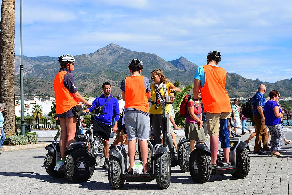 Segways, Nerja