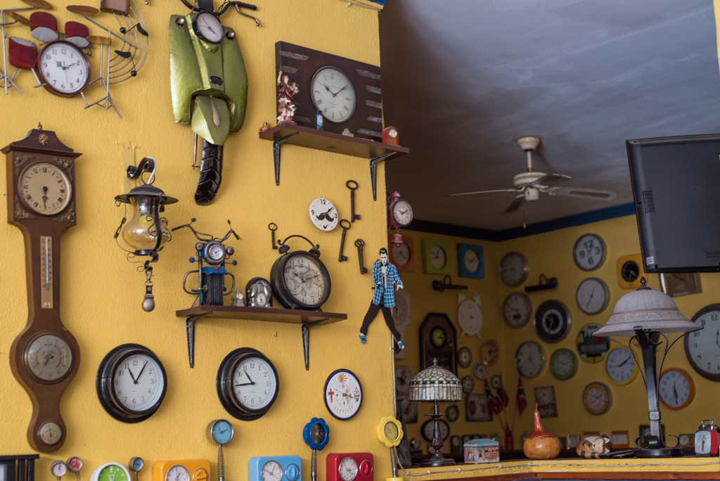 clocks, Nerja