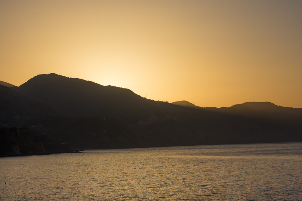 sunrise, Nerja