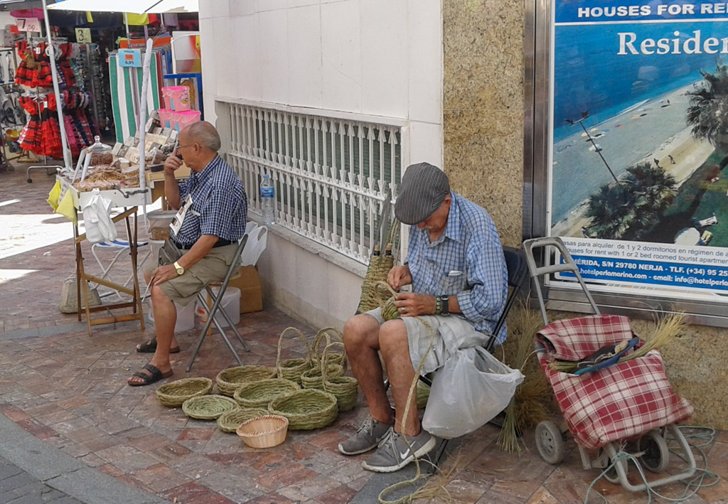 weaving, Nerja
