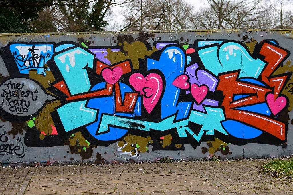 graffiti, Woodley
