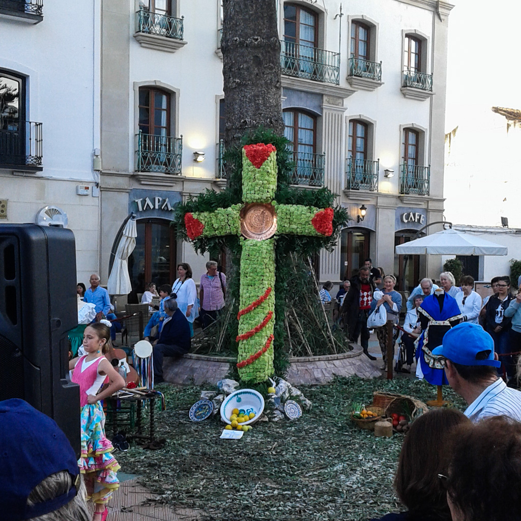 Day of the Cross, Nerja
