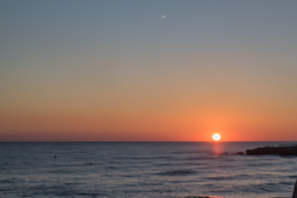sunset, Nerja